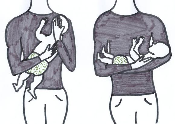 Jennifer Muller ostéopathe portage bras